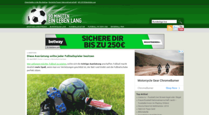 blog-fussball.de - fußballkultur - 90 minuten ein leben lang