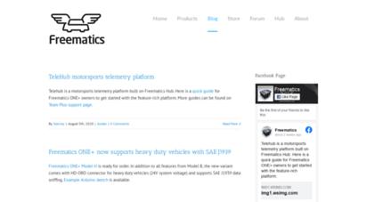 Welcome to Blog freematics com - Freematics Blog