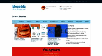 blogadda.com - best indian blogs directory - popular indian bloggers at blogadda