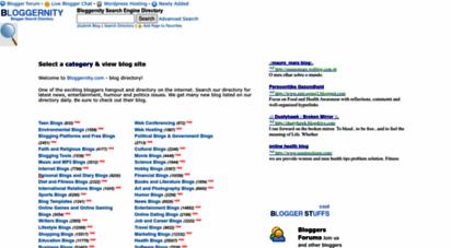 bloggernity.com - search at blog directory bloggernity.com using our blog search engine tool : search at blog directory bloggernity.com using our blog search engine tool.