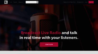 blogtalkradio.com - create and listen to online radio shows  blog talk radio