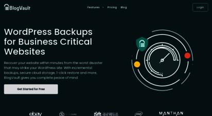 blogvault.net - the most reliable wordpress backup plugin - blogvault