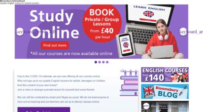 bloomsbury-international.com - english courses - english language school in london