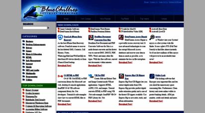 bluechillies.com - your freeware and shareware download destination! : bluechillies.com