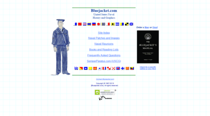 bluejacket.com - bluejacket - united states sea service history, images and insignia