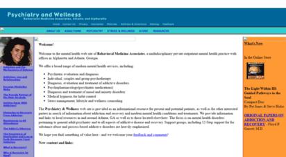 bma-wellness.com - welcome to psychiatry & wellness, behavior medicine ssociates