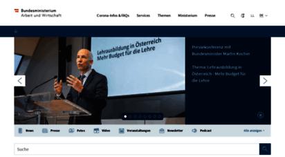 bmdw.gv.at - bundesministerium für digitalisierung und wirtschaftsstandort