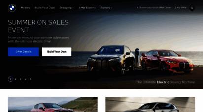 bmwusa.com - luxury suvs, sedans, coupes, ibles & crossovers  bmw usa