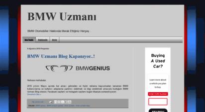 bmwuzmani.blogspot.com - bmw uzmanı
