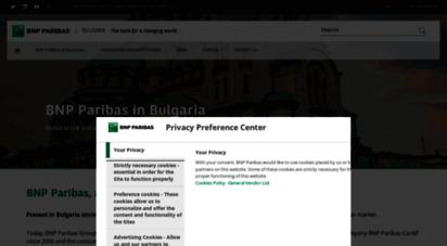 bnpparibas.bg - bnp paribas bulgaria - the bank for a changing world