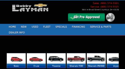 Bobby Layman Chevrolet >> Welcome To Bobbylaymanchevy Com Chevrolet Columbus Ohio