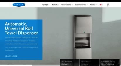 bobrick.com - restroom accessories & toilet partitions  bobrick
