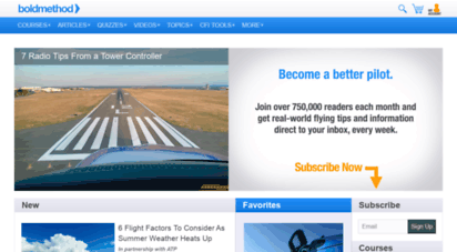 boldmethod.com - online flight training courses and cfi tools  boldmethod