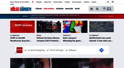 bolgegundem.com - gündem haberleri - haberler - son dakika haberleri - bölge gündem