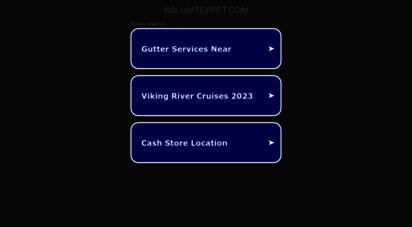 bolumseyret.com - yabancı dizi izle, yabancı diziler, yabancı film izle