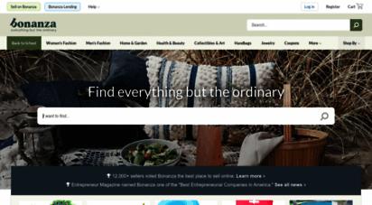 bonanza.com - bonanza :: find everything but the ordinary
