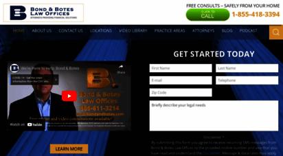 bondnbotes.com - bankruptcy lawyers & attorneys,laws & filing bankruptcy  bond & botes