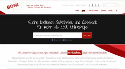 aa49fc13968078 Welcome to Bonusportal24.de - Cashback   Gutscheine jetzt sichern ...
