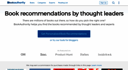 bookauthority.org - bookauthority: the most recommended books by thought leaders