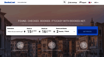 booked.net - booked.net - hotel booking service - let´s get booked
