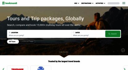 bookmundi.com - thousands of tours and holidays around the world - bookmundi