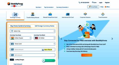 bookmyforex.com - buy & sell forex online  foreign exchange  forex india- bookmyforex