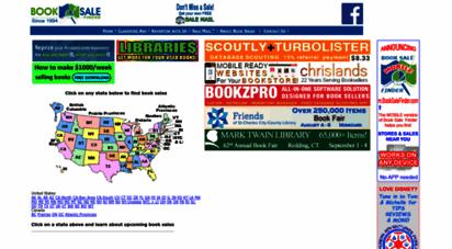 booksalefinder.com - book sale finder
