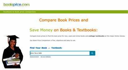 booksprice.com - booksprice - book price comparison - compare book & textbook prices