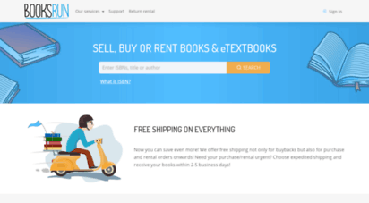 booksrun.com - booksrun: sell, buy or rent textbooks online for best prices