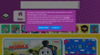 boomeranghq.net - boomerang africa  kids cartoons, shows, games & videos