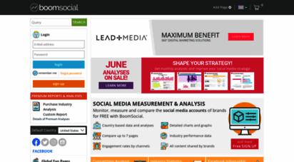 boomsocial.com - social media anlytics  anlysis  measurement
