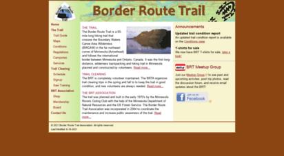 borderroutetrail.org - border route trail