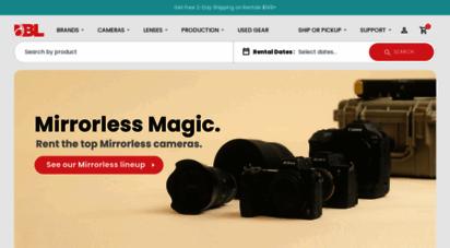 borrowlenses.com - rent lenses, cameras, & video equipment  borrowlenses