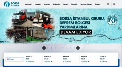 borsaistanbul.com - borsa istanbul a.ş.