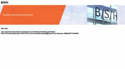 bosch-home.com.tr - yaşam için teknoloji  bosch ev aletleri