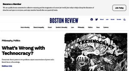 similar web sites like bostonreview.net