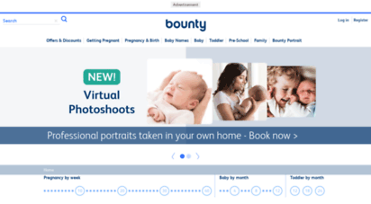 bounty.com - bounty  pregnancy & parenthood advice