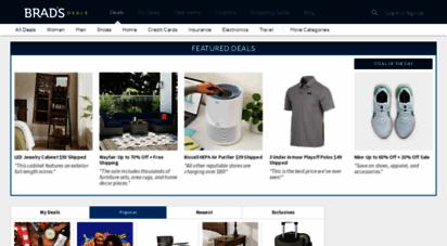 bradsdeals.com - best deals, online coupons & exclusive discounts  brad´s deals