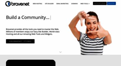 bravesites.com - bravenet web services