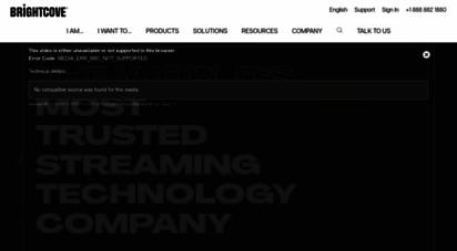 brightcove.com - brightcove  the leading online video platform  video hosting