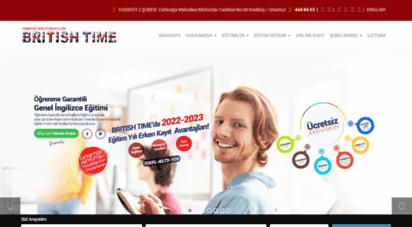 britishtime.com.tr - british time dil okulları - sınırsız bir dünya için - ingilizce kursu - yds kursu - toefl kursu - ielts kursu - pte academic