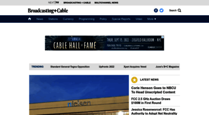 broadcastingcable.com - broadcasting & cable: tv business news from broadcast to digital