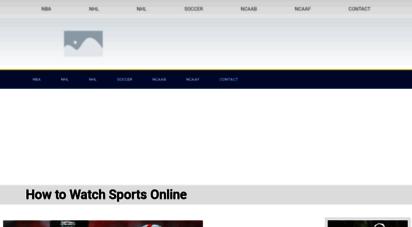 broadcastinglivesports.com -