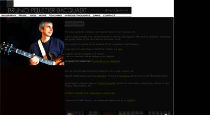 brunojazz.com - bruno pelletier - jazz guitarist in san francisco, ca - jazz guitar lessons skype & facetime - instruction - jazz improvisation - bruno pelletier-bacquaert