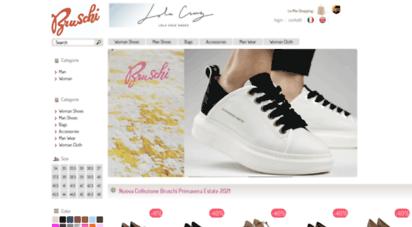 huge discount 6e1ee 60ae2 Welcome to Bruschishop.com - Italian Online Shoes Shop ...
