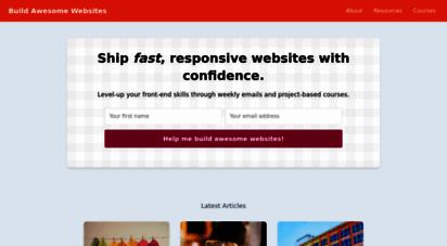 buildawesomewebsites.com -