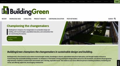 buildinggreen.com - buildinggreen