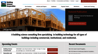 buildingscience.com - building science corporation  consulting & architecture