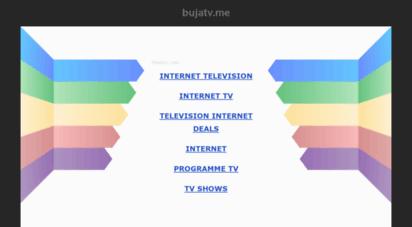 bujatv.me - bujatv.me-&nbspdiese website steht zum verkauf!-&nbspinformationen zum thema bujatv.