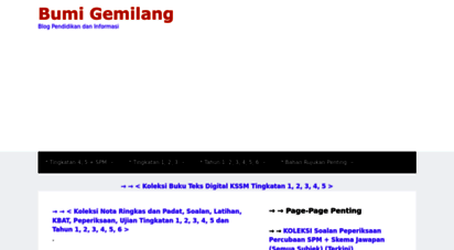 bumigemilang.com - bumi gemilang - blog pendidikan dan informasi